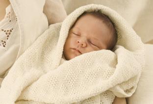 Disana Babydecke aus kuscheliger Merinowolle
