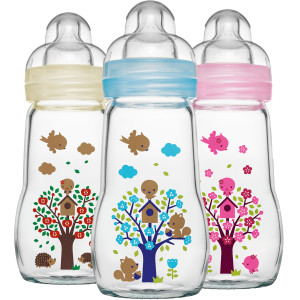 MAM Feel Good Glass Bottle