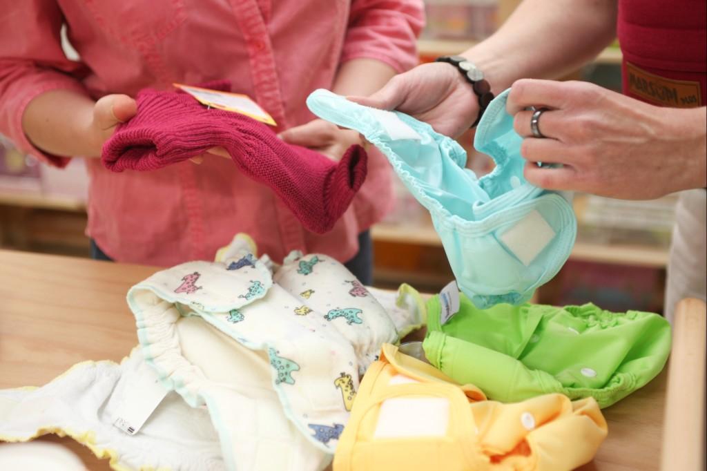waschbare Windeln im Babyladen in Weinsberg bei Heilbronn - mit Beratung!