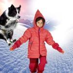 Winterjacke und Schneehose