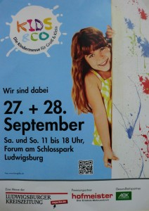 Messe kids und Co in Ludwigsburg