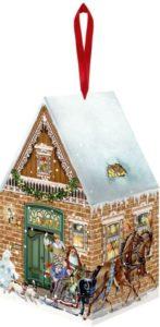 24 Adventskalender Ideen - Häuschen zum Selberfüllen und Dekorieren
