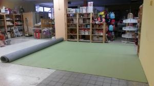 Teppichboden bei ZWERGE.de im neuen Spielwarenbereich