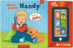 Kinderhandy mit 7 Sounds + Bilderbuch