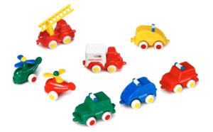 Rettungsfahrzeuge und -hubschrauber