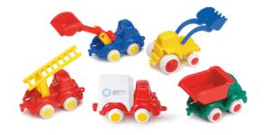 Die kleinsten Fahrzeuge von viking Toys - mini chubbies