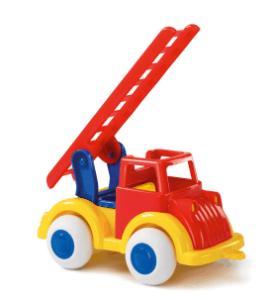 Feuerwehrauto mit beweglicher Leiter