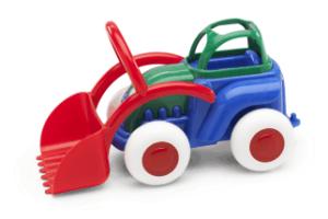 Traktor mit beweglicher Schaufel