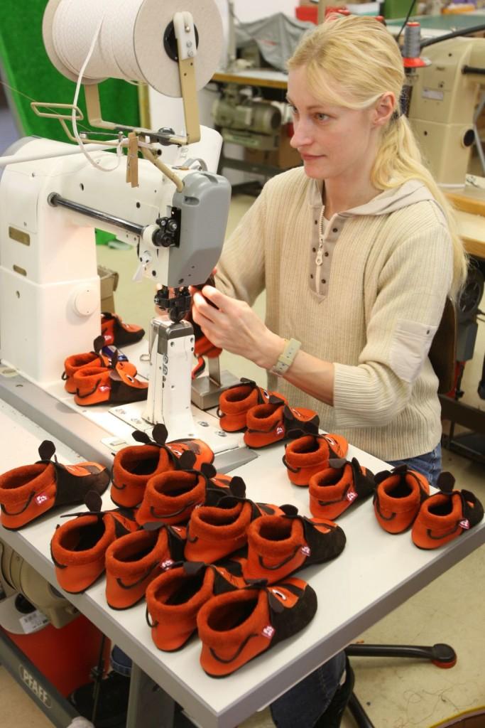Hergestellt in Deutschland in Handarbeit - die Lederschuhe von Pololo Soft
