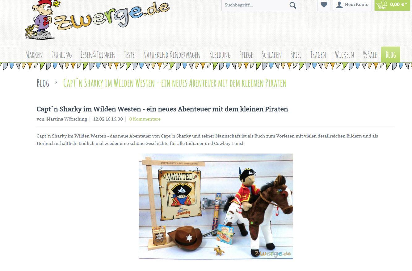 Unser neuer Blog auf www.zwerge.de