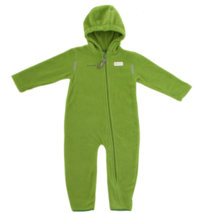 Hoppediz Fleece-Overall in grün
