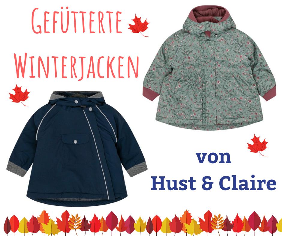 Warme Winterjacke für Kinder - wattiert mit Polyestervlies
