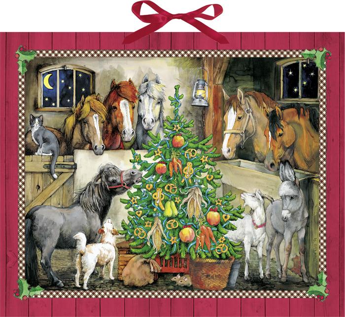 Adventskalender für Pferdefans