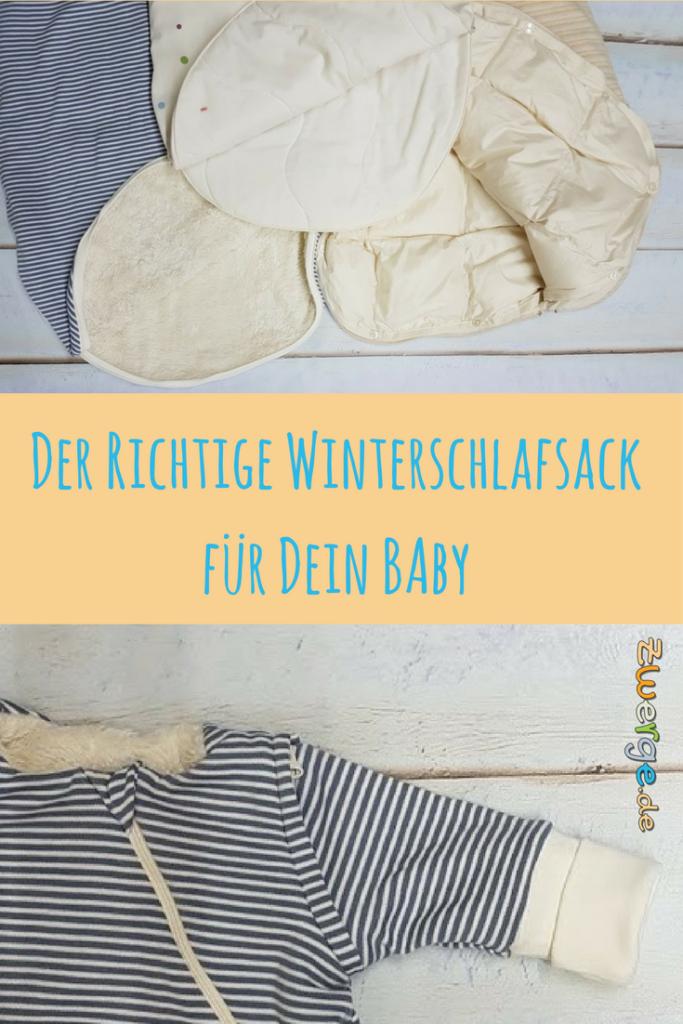 Der richtige Winterschlafsack für Dein Baby