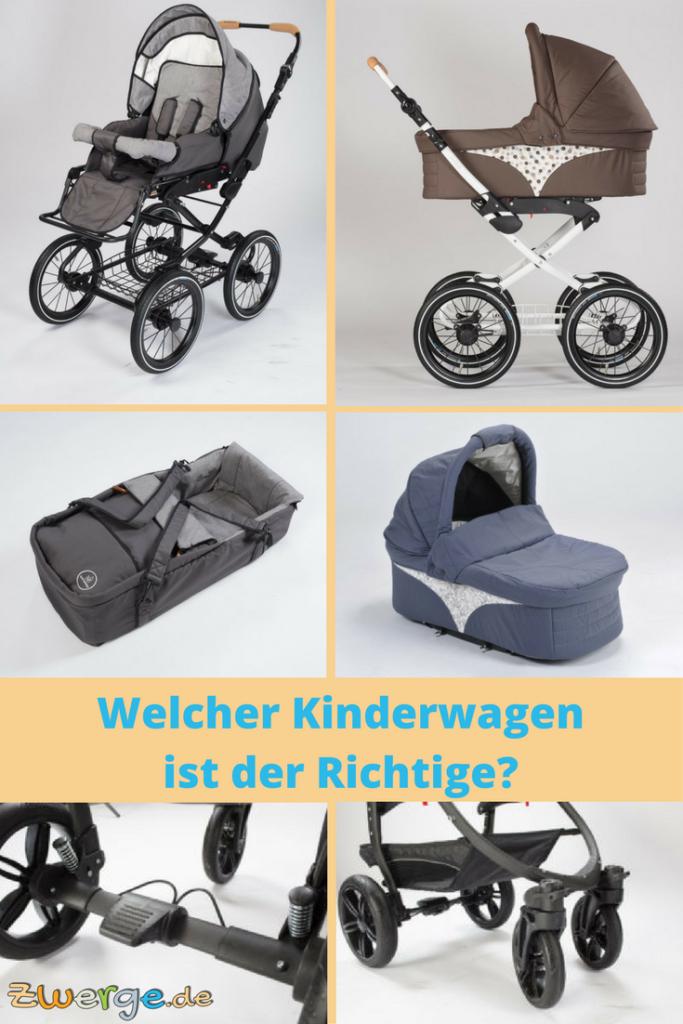 Welcher Kinderwagen ist der Richtige?